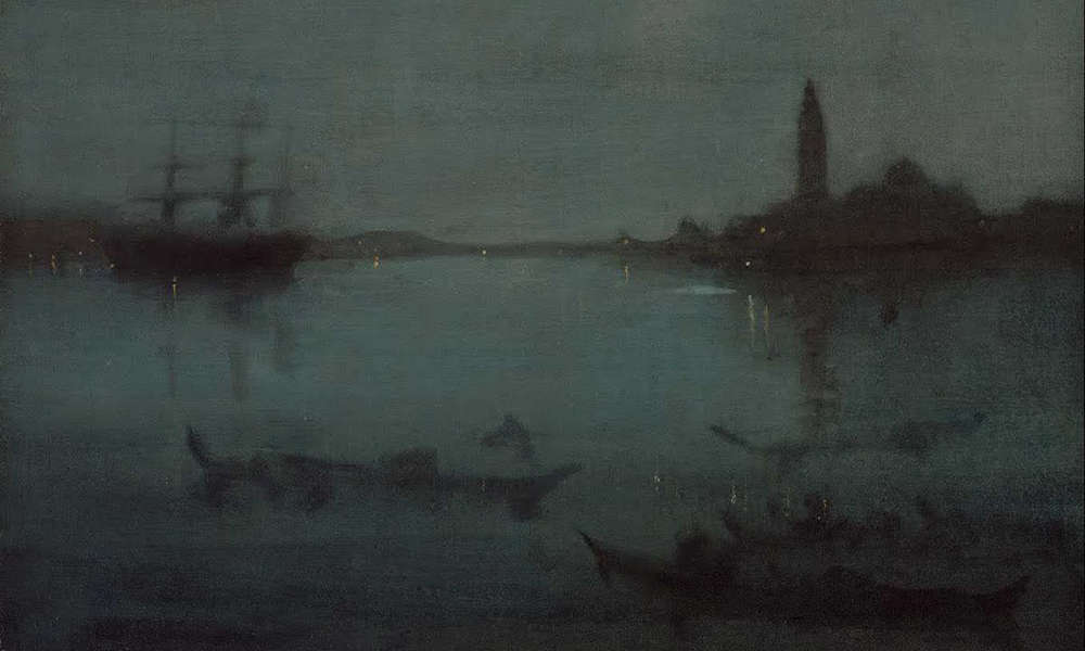 Whistler, Nocturne in Blue and Silver